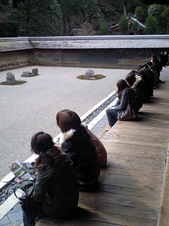 龍安寺の石庭