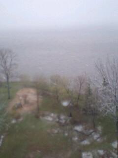 強烈な吹雪だ!