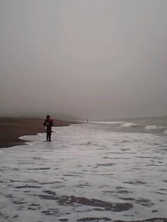まだ、海か…