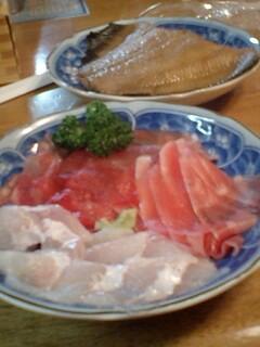 海鮮中毒…