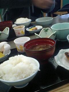 まったりと朝食…