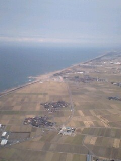 静かな日本海…