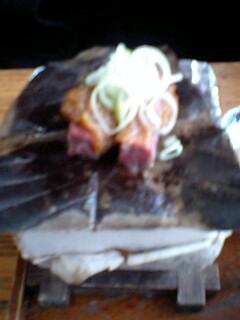飛騨牛…朴葉味噌焼き定食