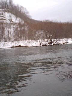 川に魅せられて…