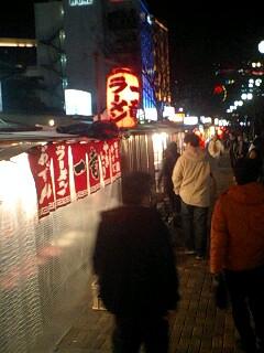 中洲…屋台街