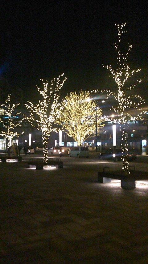 帯広の夜…