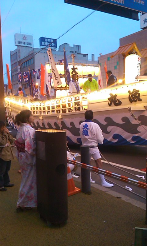 釧路港祭り…