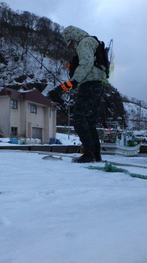 新年…初釣り…