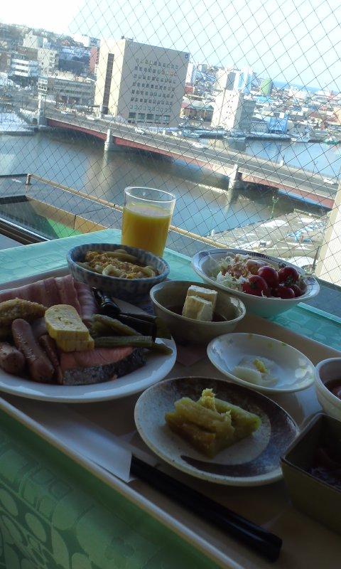 ビジホの朝食三景…