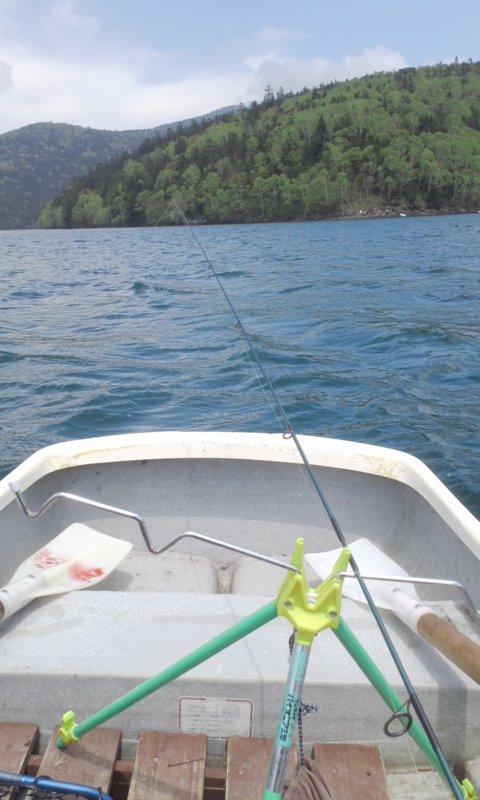 ボート上でも…