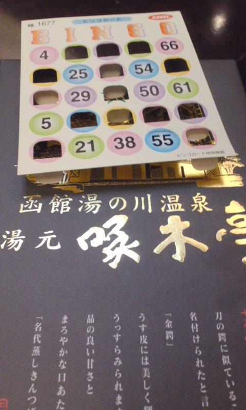 湯野浜温泉から、函館山を望む…