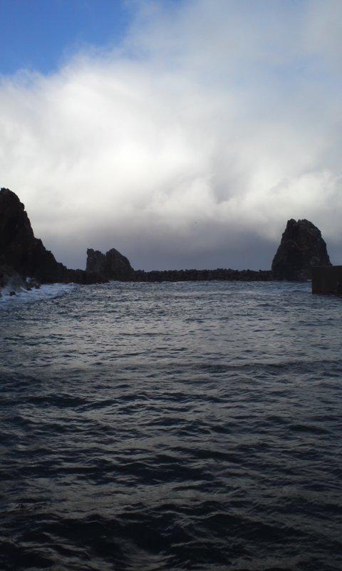 冬の日本海海アメ開幕…