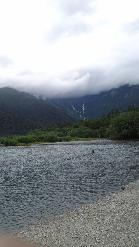 上高地…大正池から河童橋…