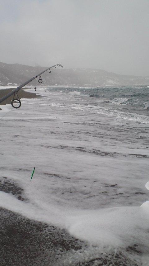 日本海冬の海アメ開幕…