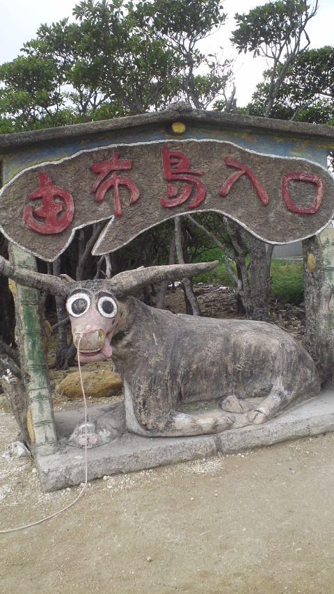 由布島渡し…水牛車…
