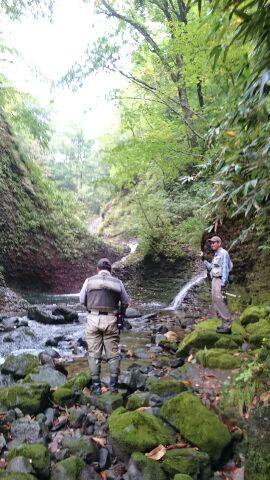 久しぶりの道南山岳渓流の釣り・・